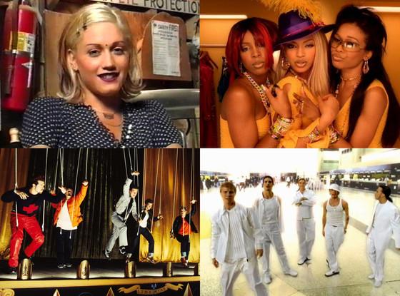 Nsync, Backstreet Boys, Destiny's child, No Doubt