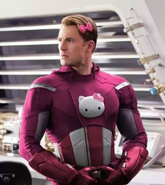 Superheroes, Hello Kitty
