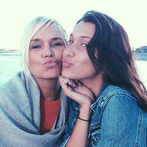 Yolanda Foster, Bella Hadid, Instagram