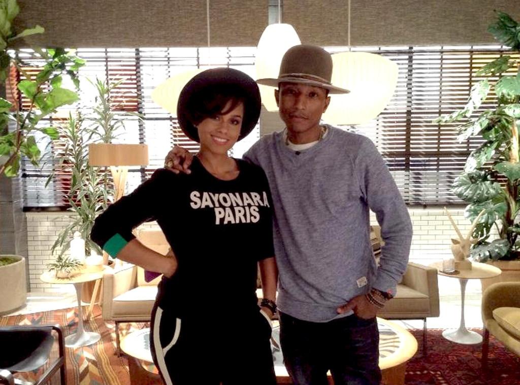 Alicia Keys, Pharrell Williams, The Voice