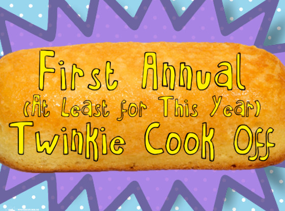 Twinkie Cook Off