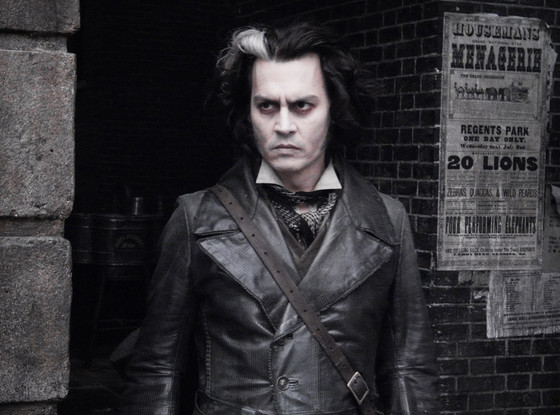 Johnny Depp, Sweeney Todd