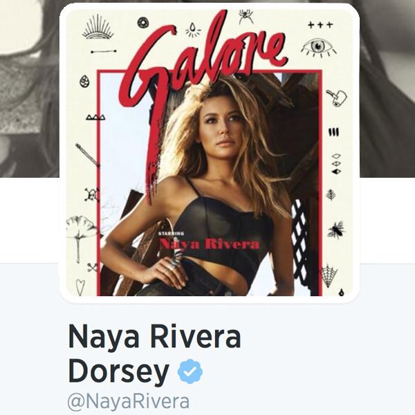 Naya Rivera Dorsey, Twitter