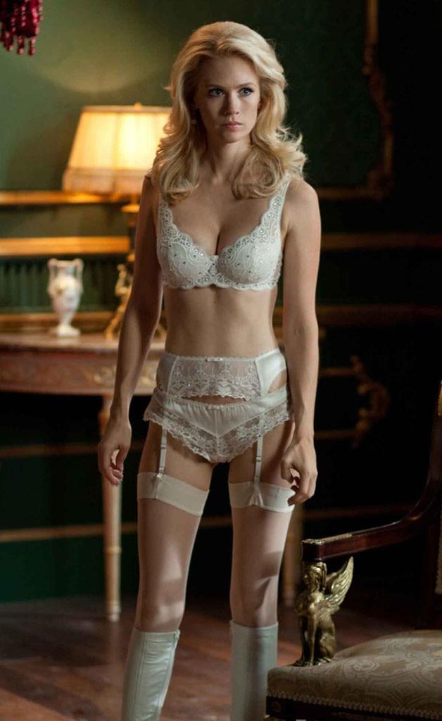 Emma Frost, January Jones, X Men, Hottest Superheroes