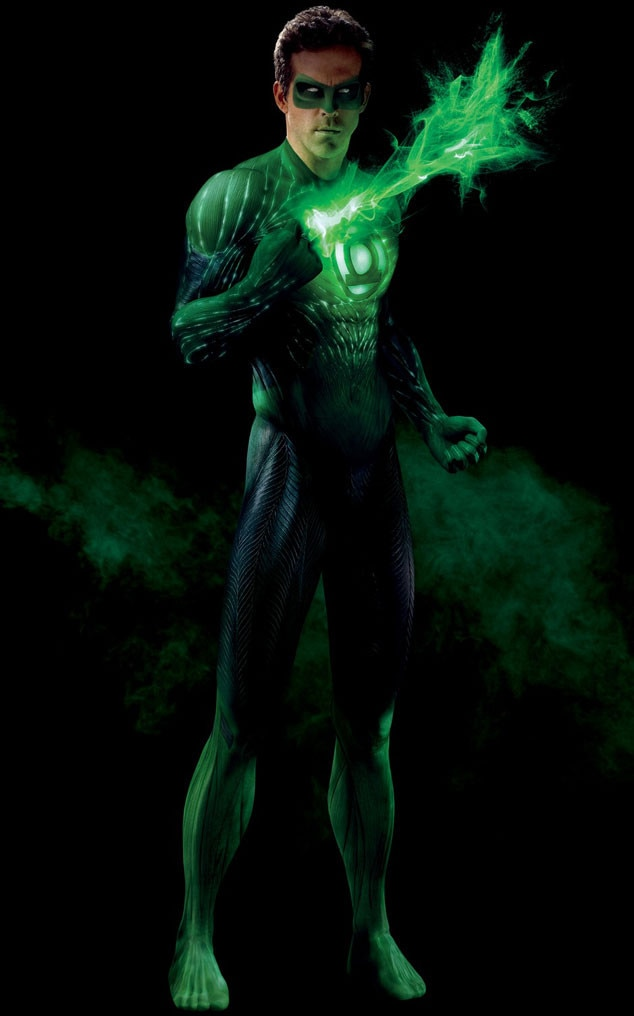 Green Lantern, Ryan Reynolds, Hottest Superheroes