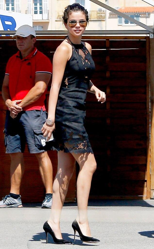 Geburtstags Outfit From Selena Gomez 22 Geburtstag In Frankreich