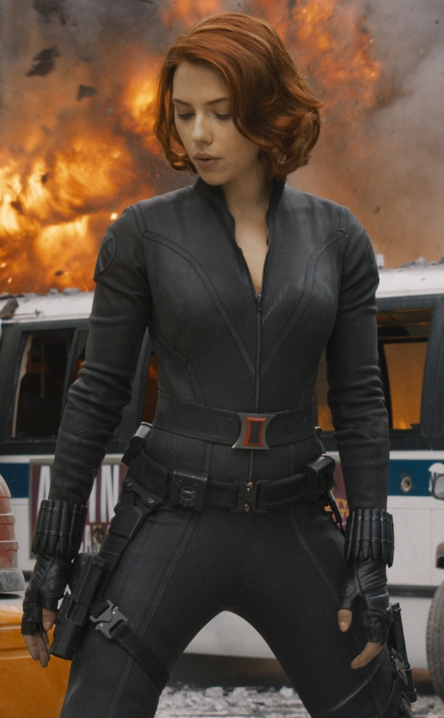 Scarlett Johansson, Black Widow from Hottest Star ...