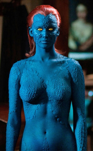 Mystique, Jennifer Lawrence, X Men, Hottest Superheroes