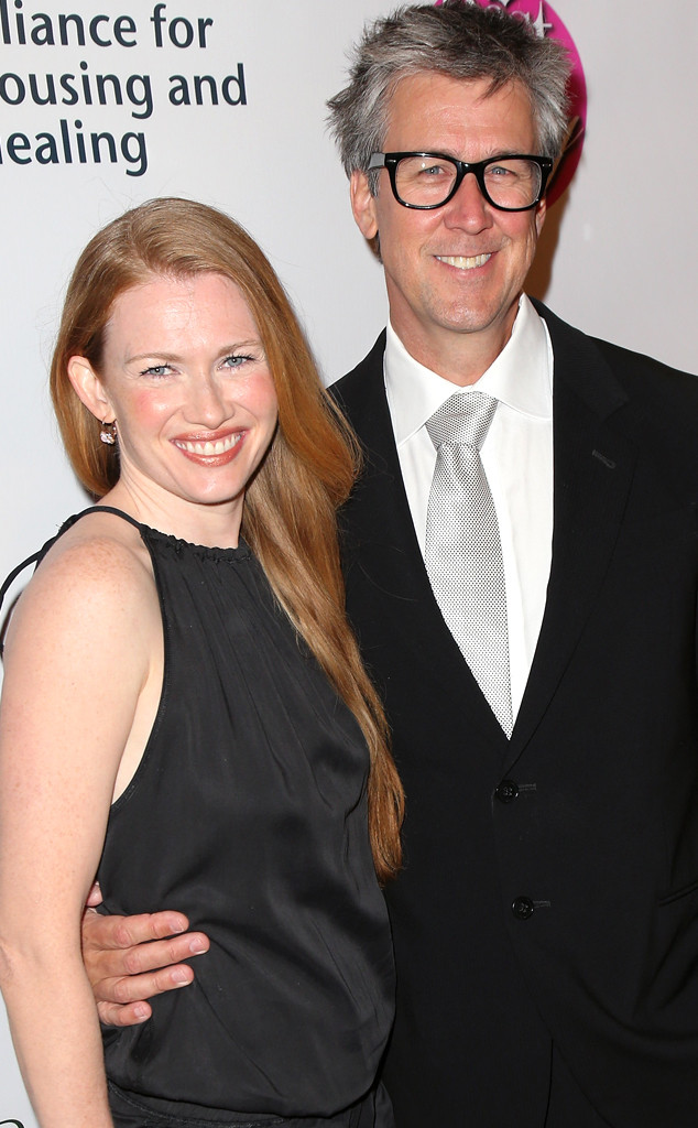 Alan Ruck with attractive, Wife Mireille Enos