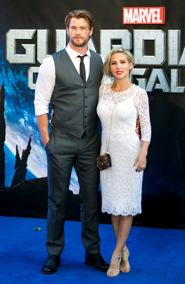 Chis Hemsworth, Elsa Pataky