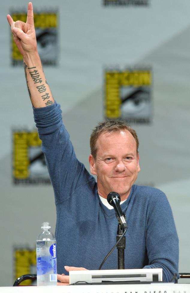 Kiefer Sutherland, Comic-Con