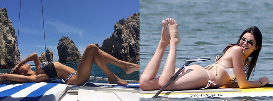 Naya Rivera, Kandall Jenner, Best of Summer Hottest Bods