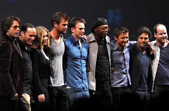 The Avengers Cast, Comic-Con