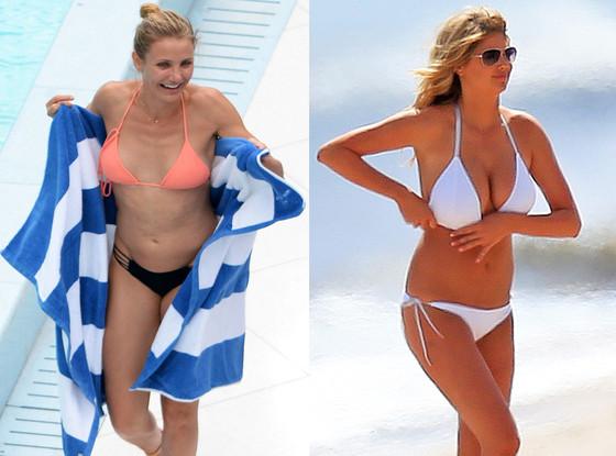 Cameron Diaz, Kate Upton, Best of Summer Hottest Bods