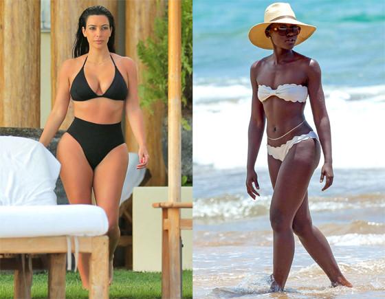 Kim Kardashian, Lupita Nyong'o, Best of Summer Hottest Bods