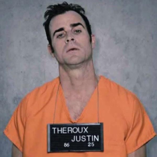 Justin Theroux, Mugshots, Jimmy Kimmel Live