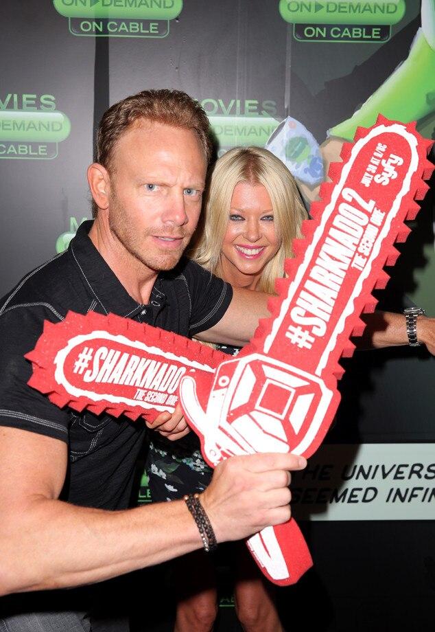Ian Ziering, Tara Reid, Comic-Con