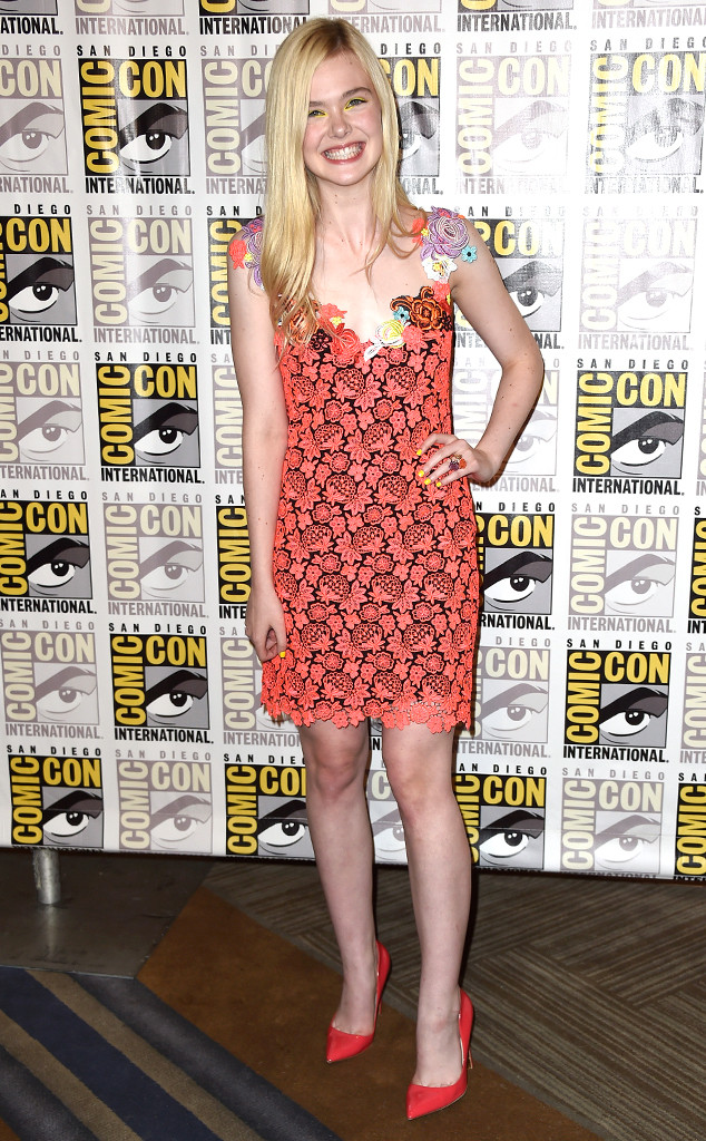 Elle Fanning, Comic-Con