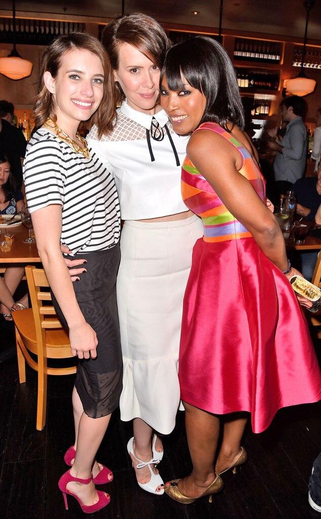 Sarah Paulson, Emma Roberts, Angela Bassett, Comic-Con