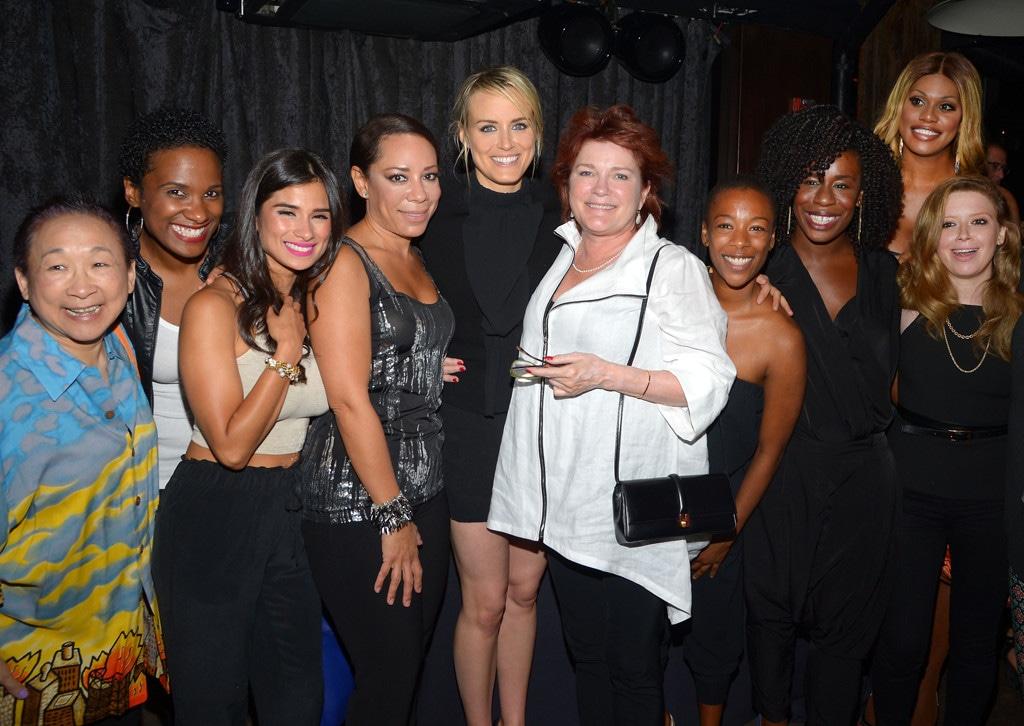 Taylor Schilling, Kate Mulgrew, Natasha Lyonne, Laverne Cox, Orange Is the New Black
