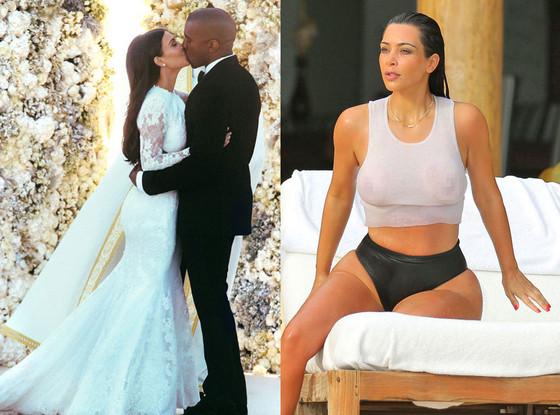 Kim Kardashian, Kanye West, best kardashian moments of summer