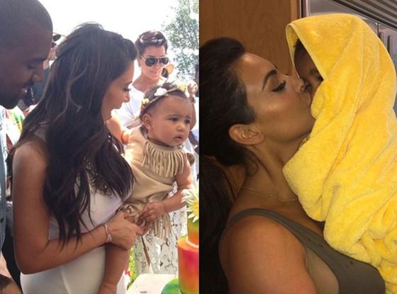 Kim Kardashian, North West, Instagram, best kardashian moments of summer
