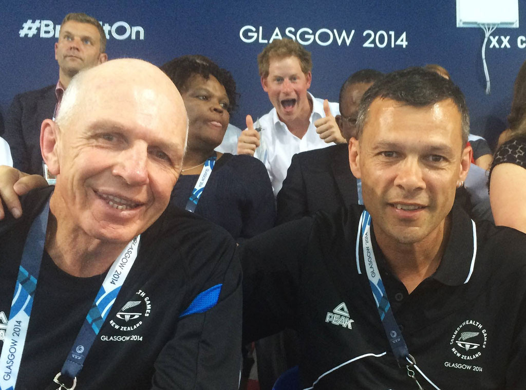 Prince Harry, Photobomb