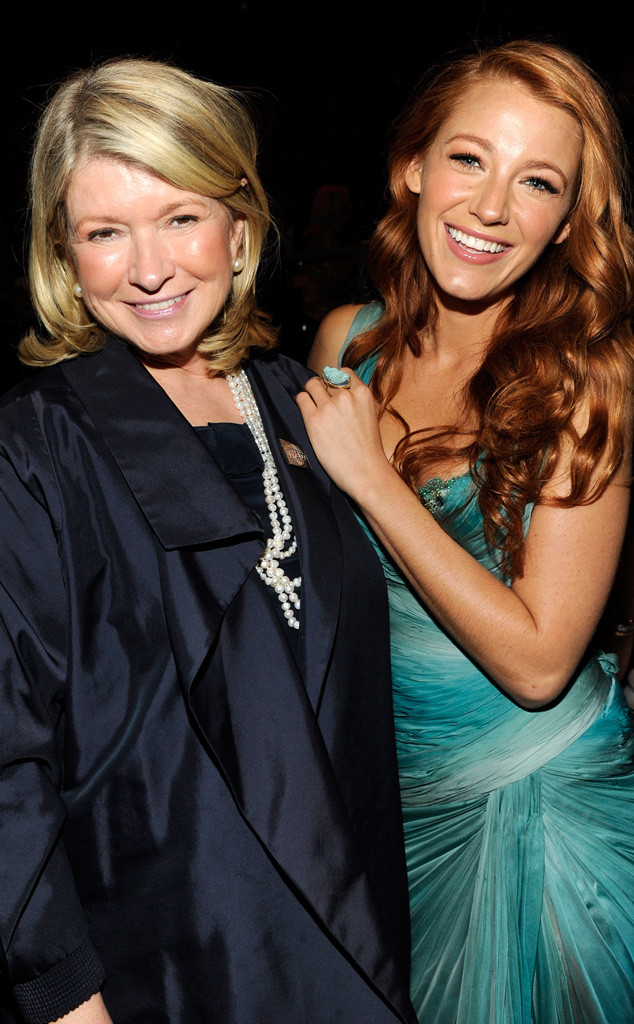 Martha Stewart, Blake Lively