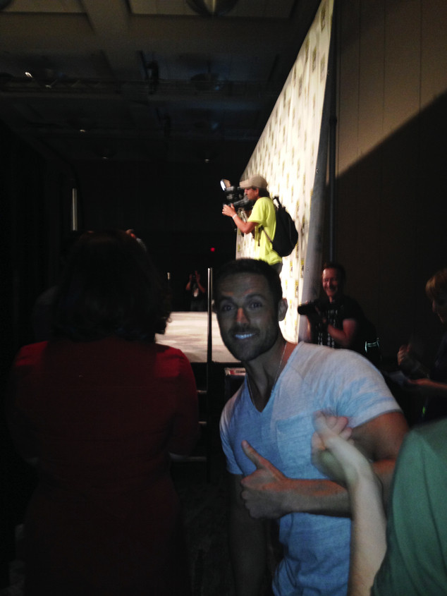 Dylan Bruce, Comic-Con
