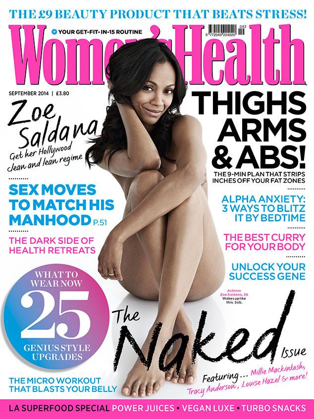 Zoe Saldana, Women's Health
