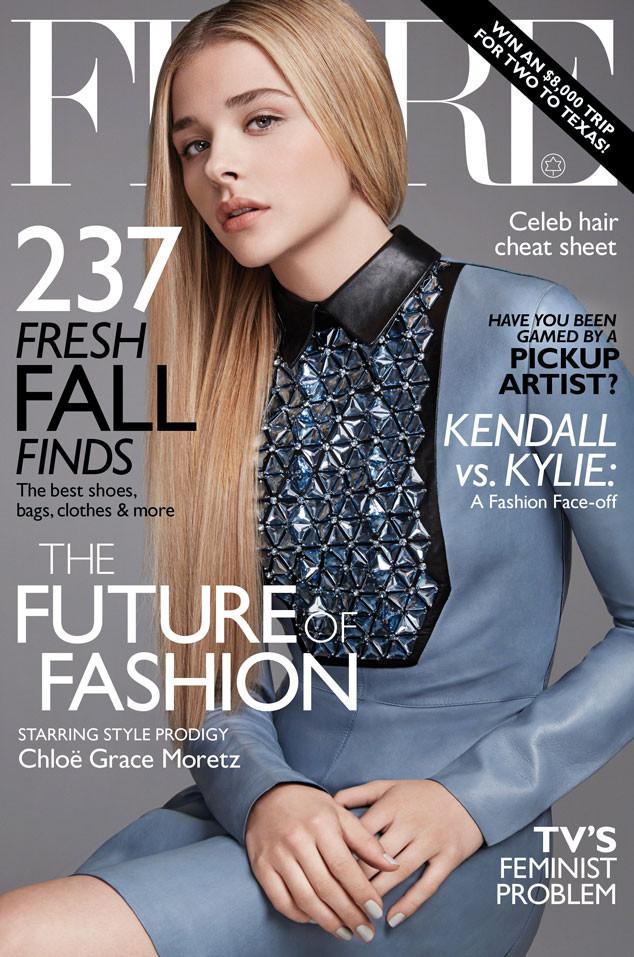 Chloe Grace Moretz, Flare Magazine