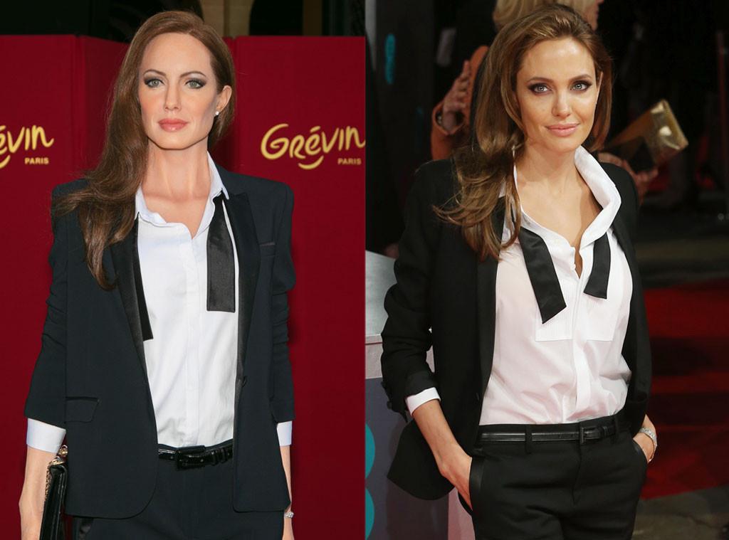 Angelina Jolie, Wax Figure