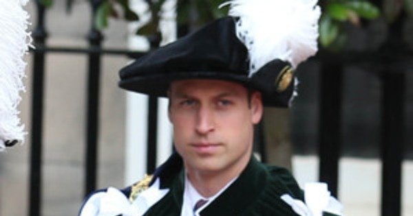 Prince William Joins Queen Elizabeth Ii At The Order Of