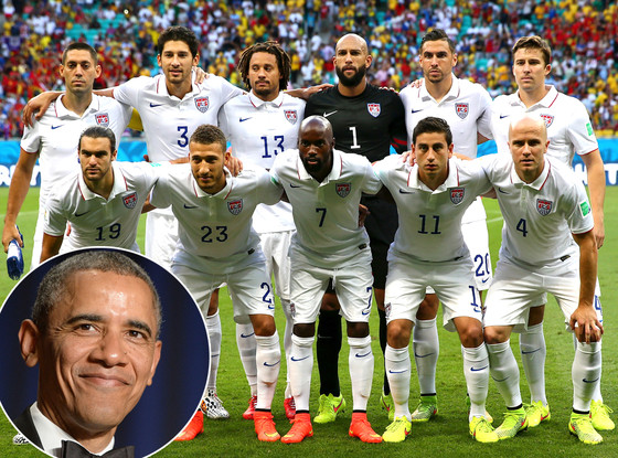 Barack Obama, USA Soccer Team