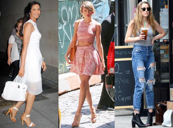 Get The Look: Summer Shoes, Fabulist, Padma Lakshmi, Taylor Swift, Amber Heard