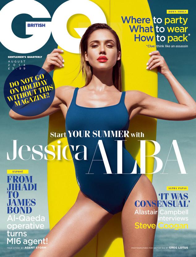Jessica Alba, GQ