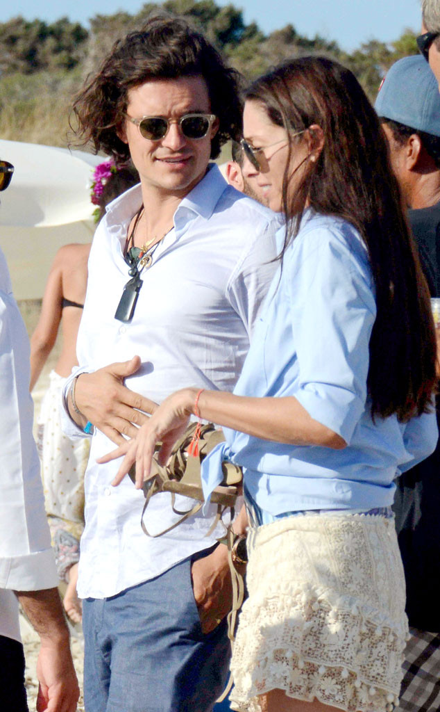 Orlando Bloom, Erica Packer