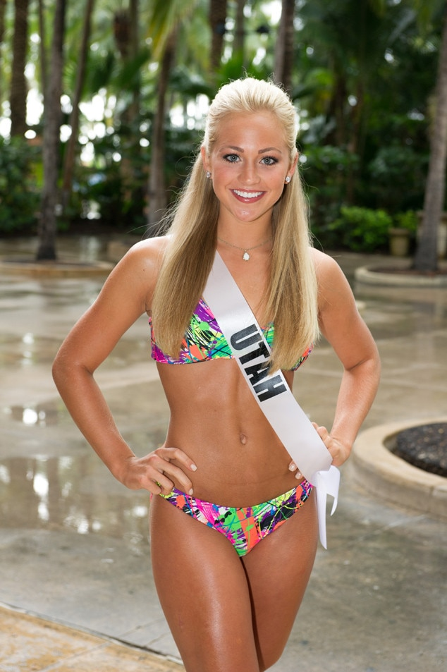 Miss Utah Teen Usa From 2014 Miss Teen Usa Bikini Pics  E -8561