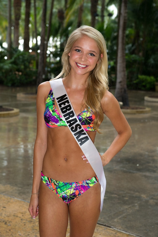 Miss Nebraska Teen Usa From 2014 Miss Teen Usa Bikini Pics  E News-4504