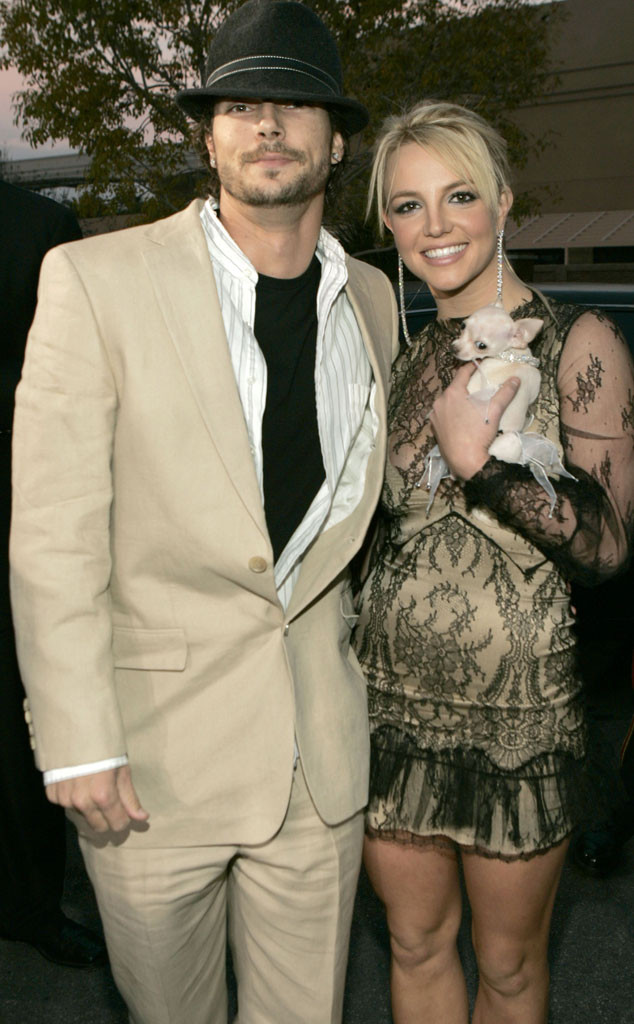 Kevin Federline, Britney Spears, 2004 Billboard Music Awards