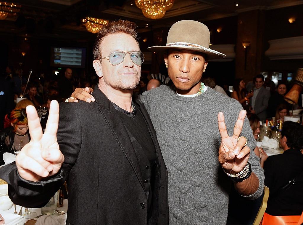 Bono, Pharrell