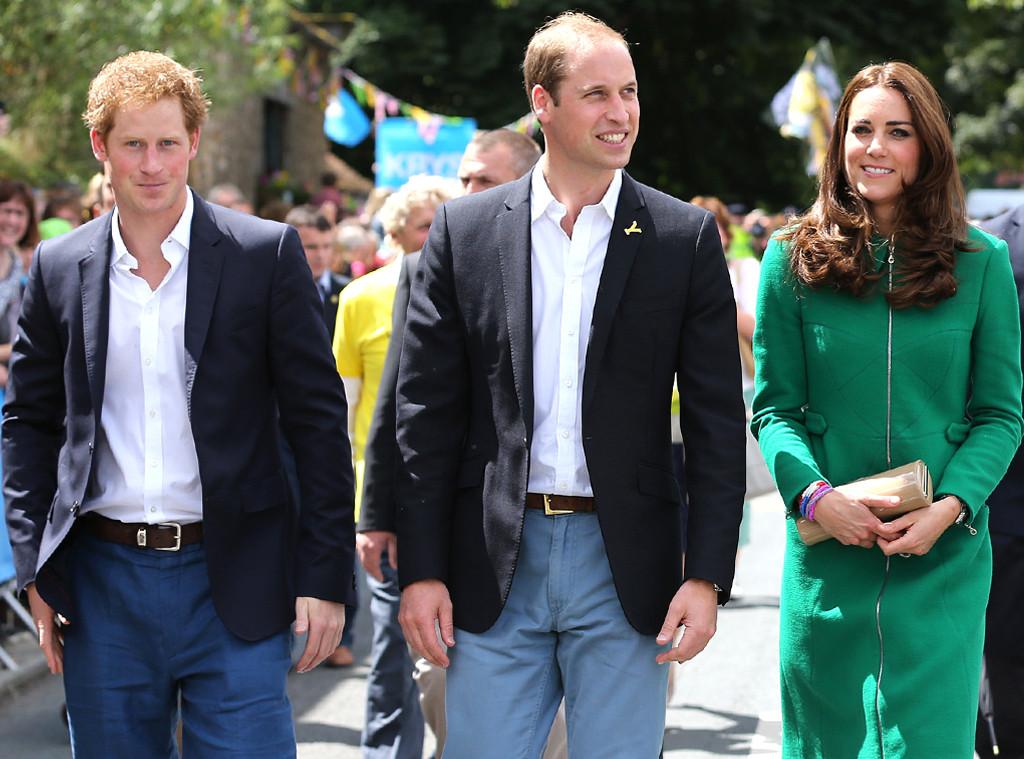 Catherine, Duchess of Cambridge, Kate Middleton, Prince William, Prince Harry
