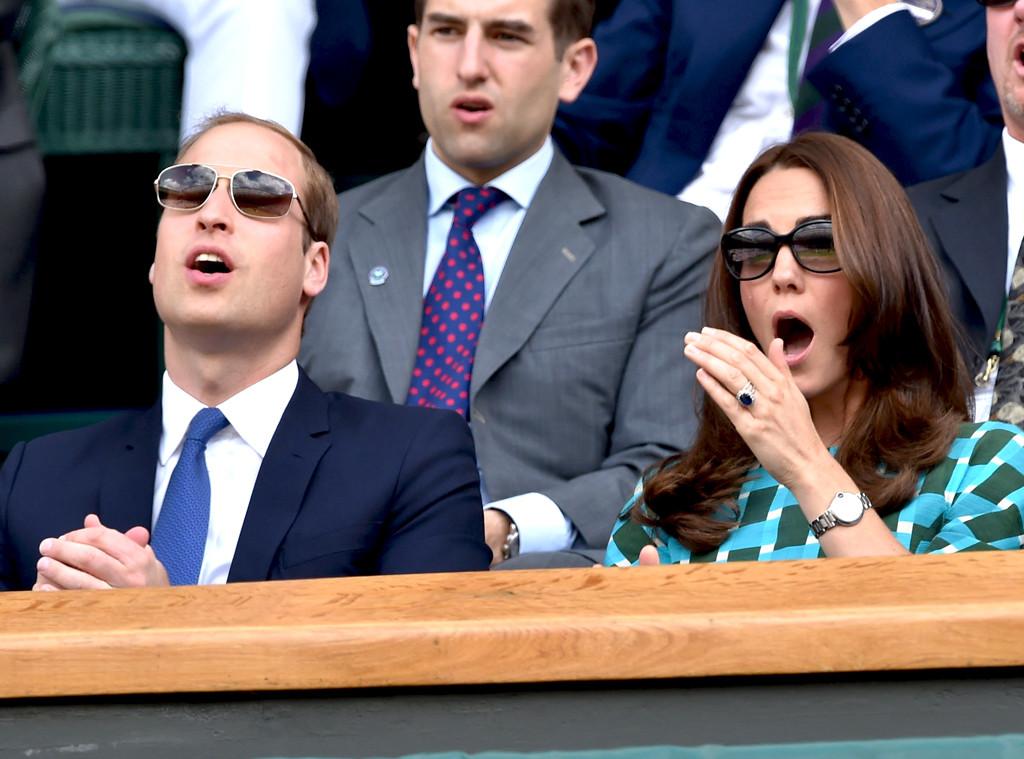 Kate Middleton, Duchess of Cambridge and Prince William, Wimbledon