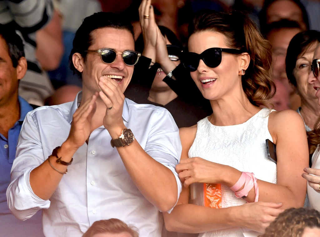 Orlando Bloom, Kate Beckinsale, Wimbledon