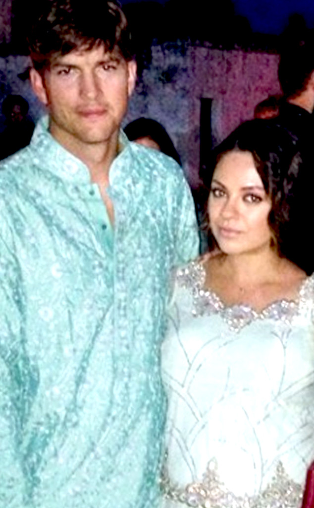 Ashton Kutcher And Mila Kunis Wedding.Ashton Kutcher Mila Kunis Wear Indian Attire At Friend S Wedding