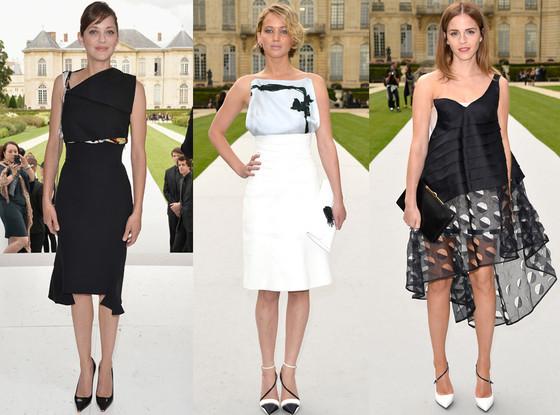 Marion Cotillard, Jennifer Lawrence, Emma Watson
