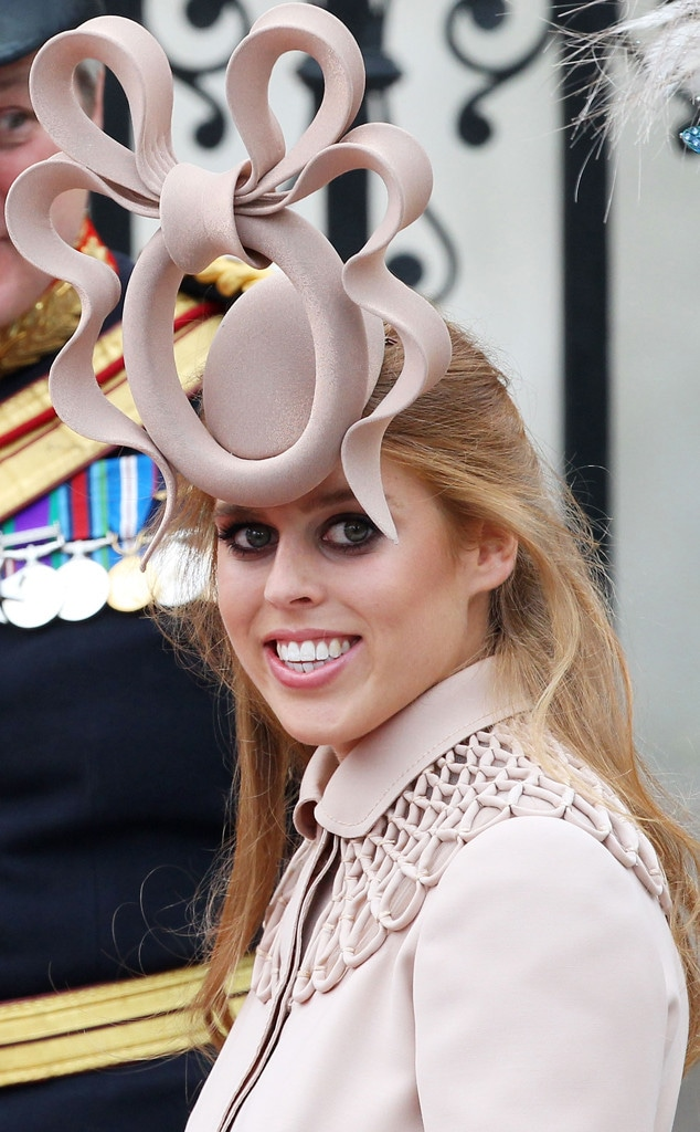 Princess Beatrice, Fascinator