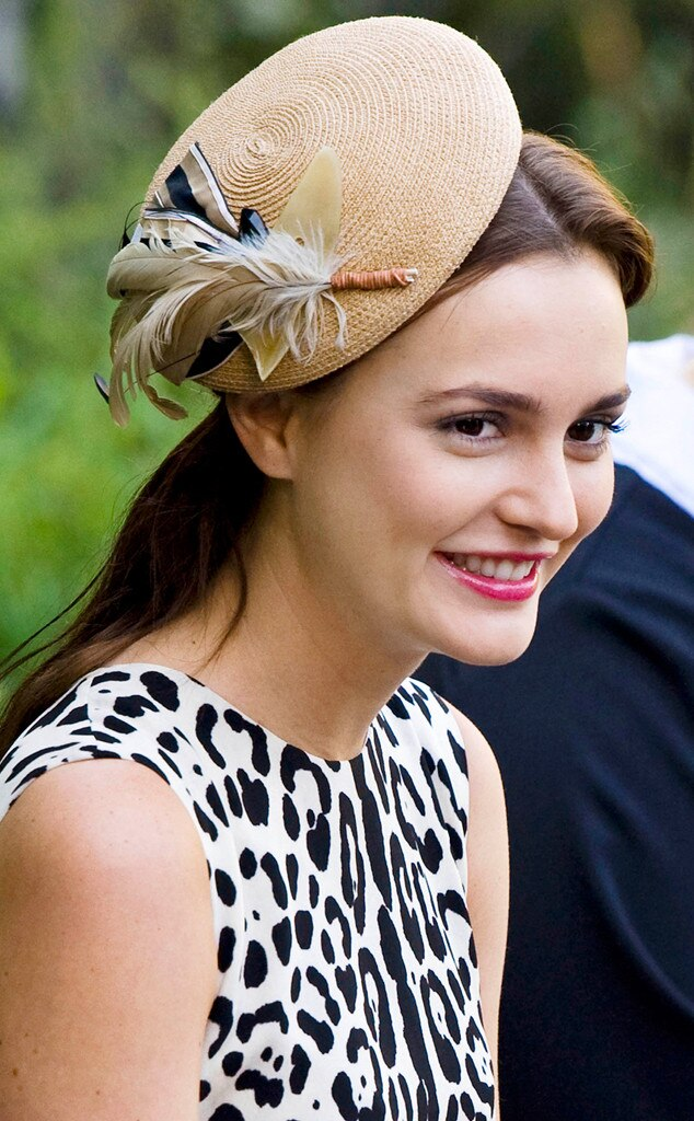 Leighton Meester from The Best and Worst Celebrity Fascinators  4bfc8bb9dc2