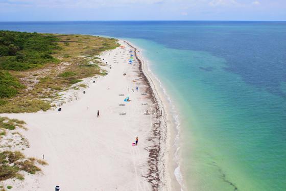 Best Beaches, Crystal Beach, Florida