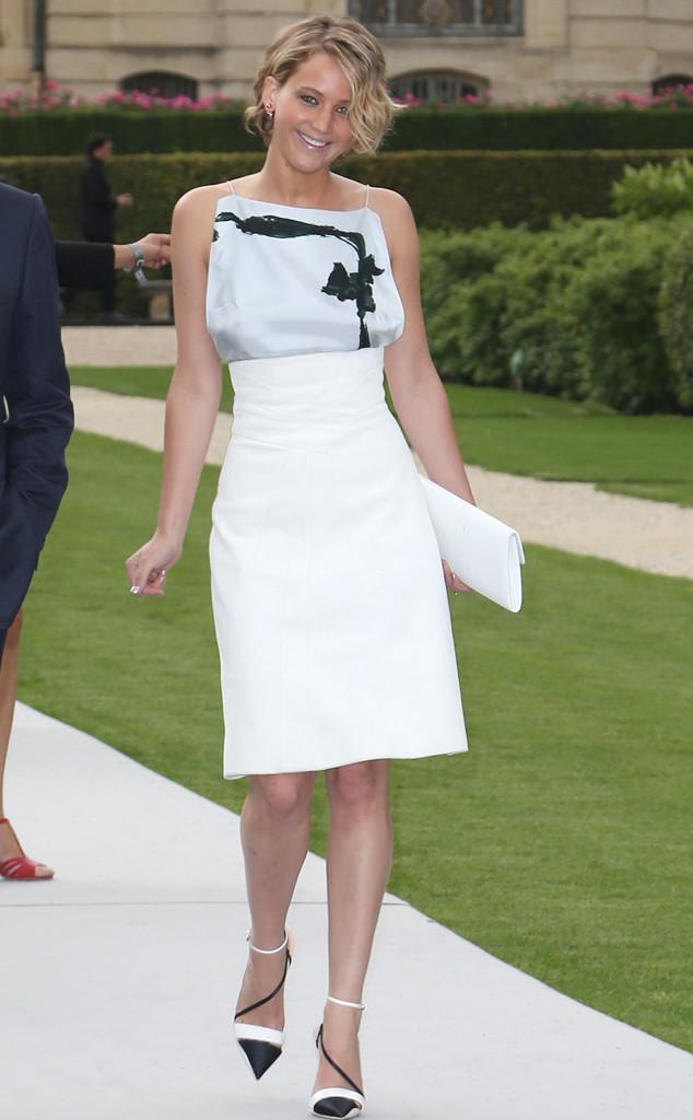 SHOP ONLINE: Jennifer Lawrence Very Revealing Dress at